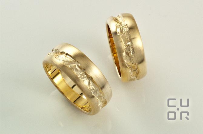 Trauring Mod. 1 In allen Edelmetallen erhältlich.  Paarpreise Gold ca. 4100.-